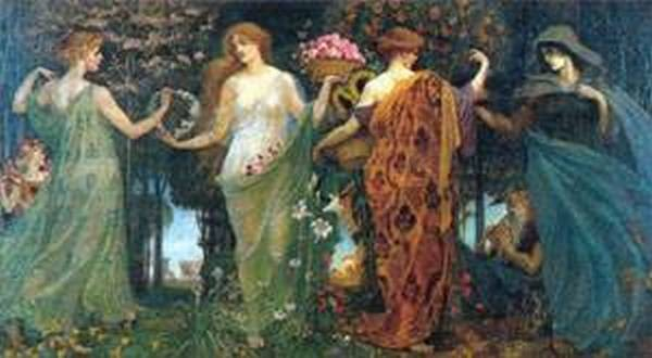 The masque of the four seasons 1903 9